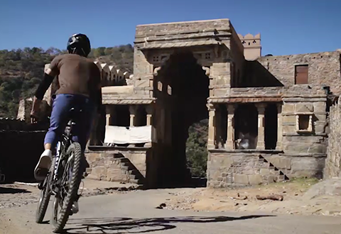 Cycling at Kumbhalgarh